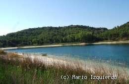 Ruidera: Laguna Santos Morcillo