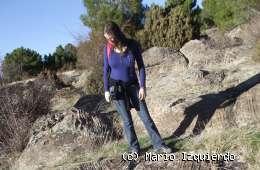 Albarracín: Anillos de Liesegang en areniscas del Buntsandstein